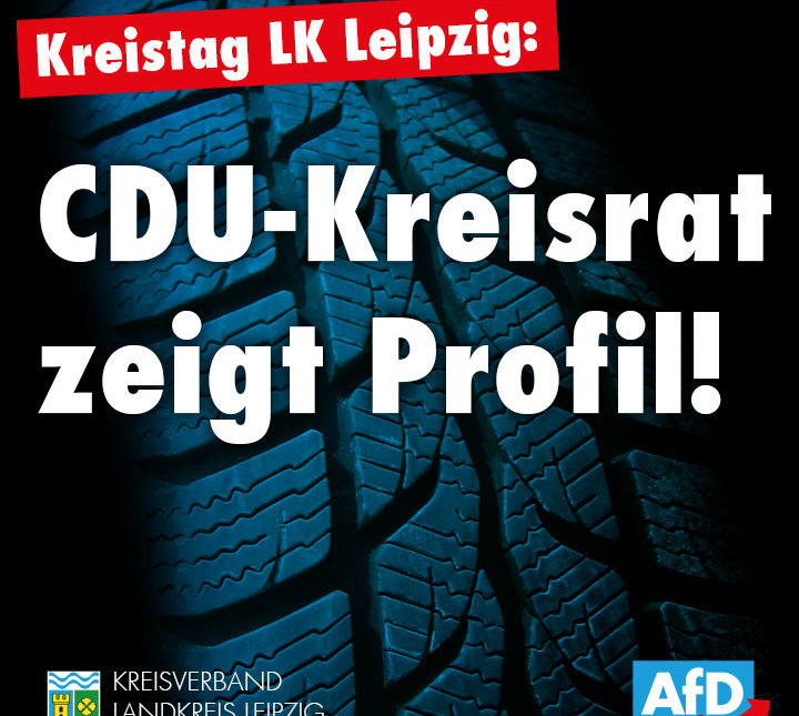 CDU-Kreisrat zeigt Profil!