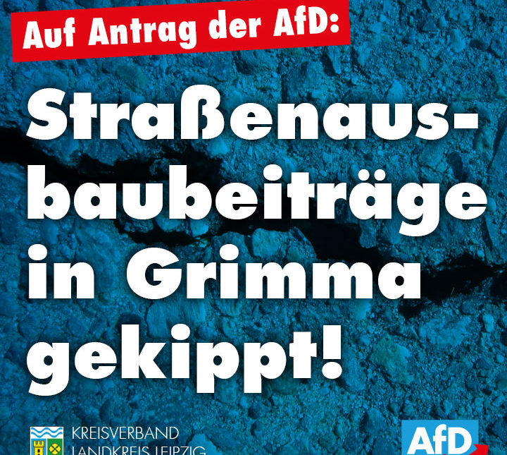 Straßenausbaubeiträge in Grimma gekippt!