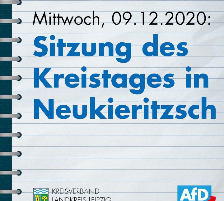 8. Sitzung des Kreistages in Neukieritzsch