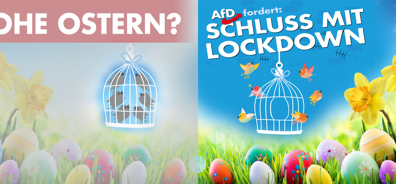 Frohe Ostern liebe Landsleute!