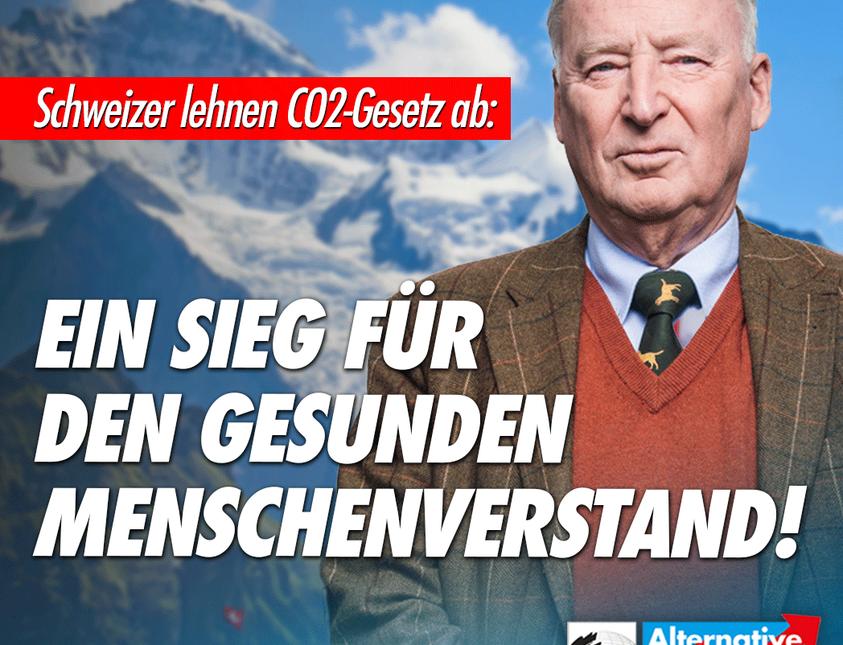 Schweizer lehnen CO2-Gesetz ab