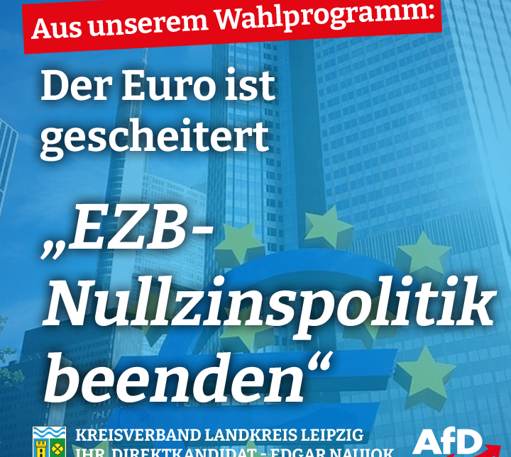 EZB-Nullzinspolitik beenden