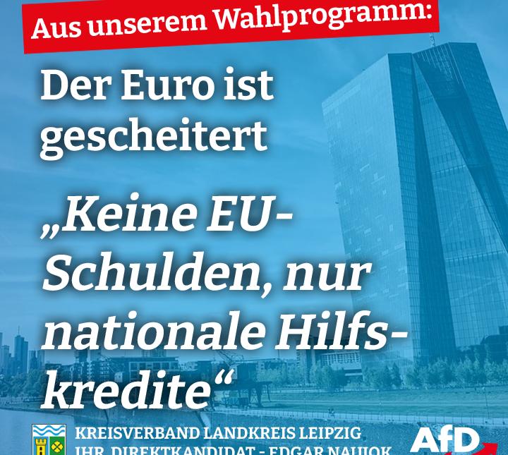 Keine EU-Schulden, Hilfskredite nur auf nationaler Ebene