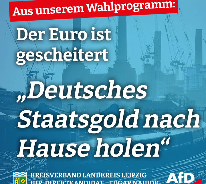 Deutsches Staatsgold nach Hause holen