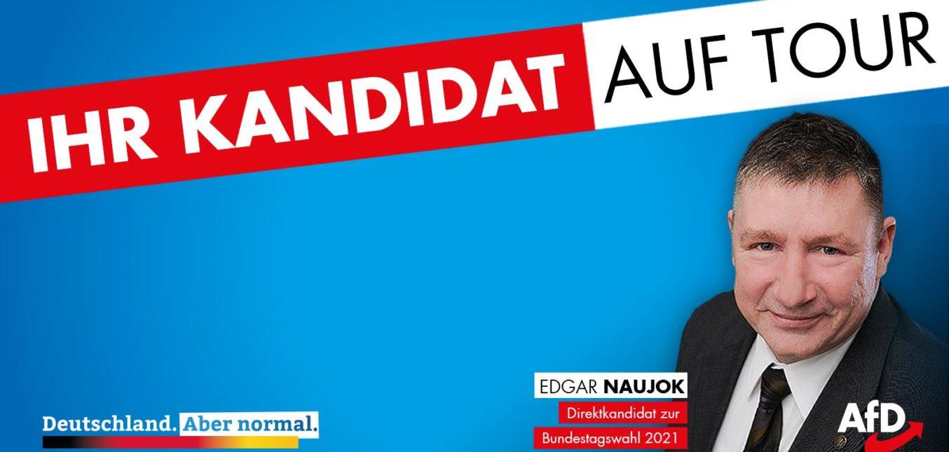 Wahlkampfauftritte in Geithain und Zwenkau