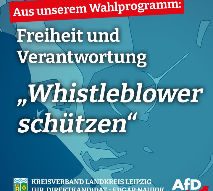 Whistleblower schützen