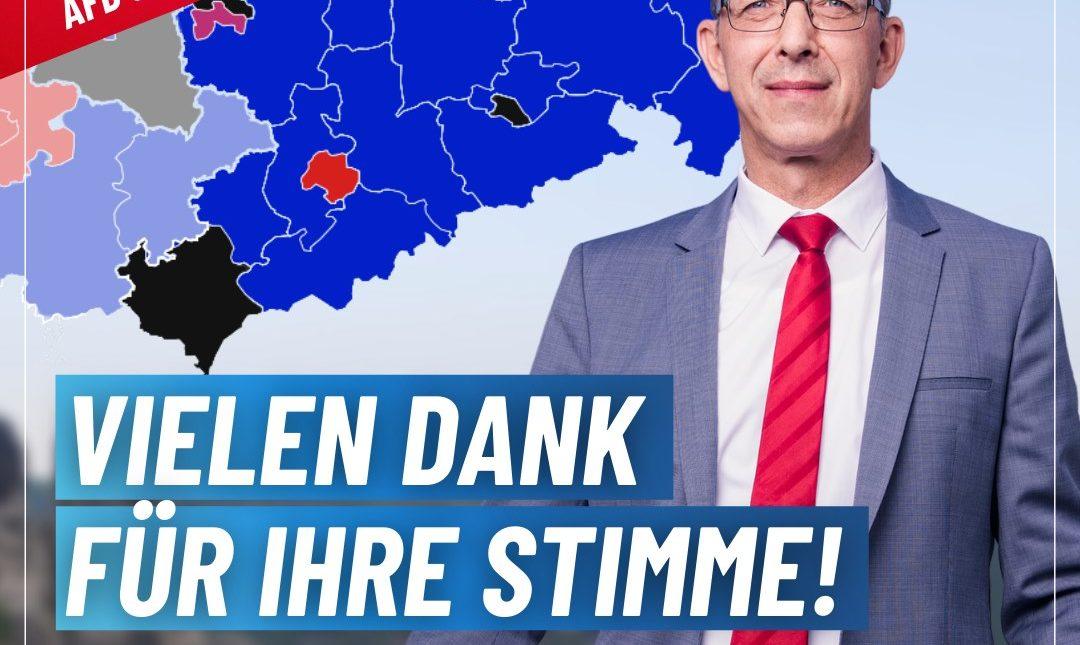 AfD - Stärkste Kraft in Sachsen!