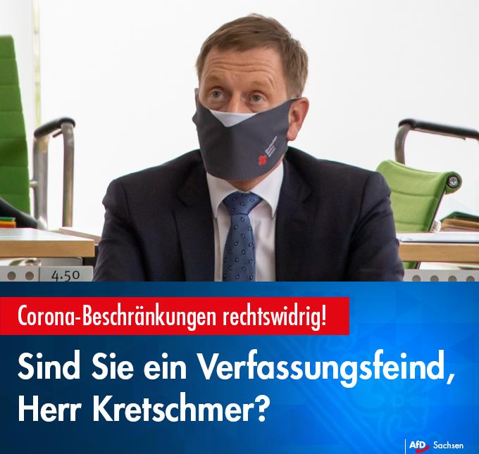 Sind Sie ein Verfassungsfeind, Herr Kretschmer