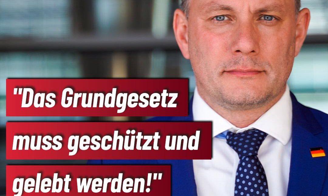 Unser Grundgesetz muss gelebt werden – für Deutschland und seine Bürger!
